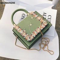 Vintage Blume Spitze Handtaschen Frauen Crossbody Taschen Mode Gold Kette Damen Messenger Bag Abend Clutch Weibliche Geldbörsen