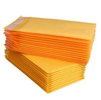 Jaune Kraft Papier Bubble Sac Vêtements Packaging Film de bulle Épaississement Express Mousse Sac Bubble Envelope Packagin PPC5326