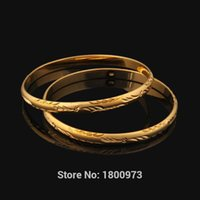 Classic Women bangles Gold Color bangles for Ethiopian & bracelets Ethiopian jewelry