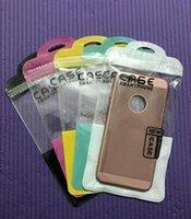 Colorful cerniera serratura per cellulare accessori per cellulare custodia cellulare custodia per earphone cavo usb sacchetto di imballaggio al dettaglio OPP PP PO POLY POLY PLASTIC BAG BAG