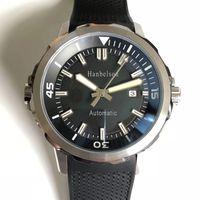Luxusuhr رجل الساعات مضيئة وظيفة الحركة التلقائية ووتش 42 ملليمتر الشريط المطاطي التقويم wristwatch montre دي لوكس هدايا عيد الميلاد