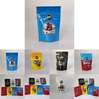 Высококачественные пустые шутки UP Gasco 3,5 грамм дочерние сумки для детей 3.5G встаньте сумку сухой травы цветы упаковки