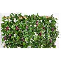 Festa de Natal 10 pcs Artificial Silk Grope Garland Faux Videira Ivy Indoor / Outdoor Decoração Home Wedding Flo Jllgdk MX_Home