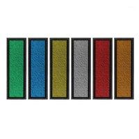 LED-Mini-digital programmierbarer Bildlauf-Wiederaufladbare Namensnachricht-Tag-Badge-Zeichen Whosale Dropship1