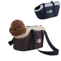 Мягкие домашние собаки Открытый носитель путешествия оксфорд сумочка кошка на плечо рюкзак портативные передние сумки для маленьких домашних животных йорки чихуахуа LJ201201