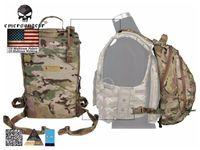 Borse esterne Emersongar Assalto Assault Backpack Operatore rimovibile Combat EM5818