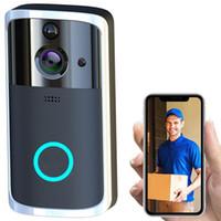 Intelligente Türklingel HD-Kamera WiFi drahtloser Anruf Intercom Video-Eye für Wohnungen Türklingel Ring für Phone Home Security Kameras