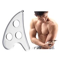 Stainless Steel Body Scraper Board Physical Therapy Muscle M...