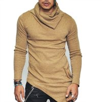 COCEDDB Sweaters à tête à tête creusés pour hommes Couleur irrégulière Top Pull masculin Couleur Solide Pull Pull Pull Pull Sweaters pour Mens 201203