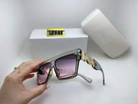 2021 Auténticas gafas de sol polarizadas 9421 Mujeres Hombres diseñador de marca Protección UV Gafas de sol Lente transparente y lente de recubrimiento SUNWEAR