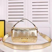 Dame Cross Body Bag Original Ledertasche Messenger Bags Magnetische Schnalle Abnehmbare Schultergurt Haspe Frauen Hohe Qualität Geldbörse Brieftaschen