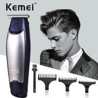 Новый Hot Kemei KM-5021 3 в 1 Профессиональные аккумуляторные триммеры для волос Clipper стрижка Парикмахерская машина для стрижки волос стайлинг с розничной упаковкой