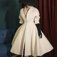 2021 Nouveau Le Palais Original Vintage Vest d'automne Veste Beige épais Gilet Streetwear Streetwear Streetwear V-cou