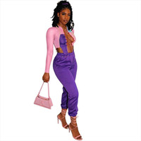 Club Wear Sexy Two Piece Outfits for Women Tracksuits Matchi...