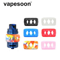 Sigarette elettroniche Atomizzatore Cassa in silicone Protezione decorativa VAPE anello per bandiera per lampadina Accessori per tubi in vetro