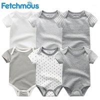Baby Rompers с коротким рукавом Одежда для девочек 2020 летних домиков kiddiezoom младенца носить комбинезон одежды, младенцев product1