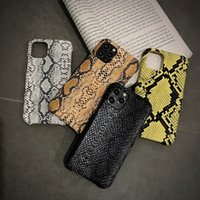 جميل ثعبان تصميم الجلد حالة الهاتف لآيفون 12 12PRO 11 11PRO X XS ماكس XR 8 7 زائد 8plus 7plus الجلود نمط قذيفة غطاء