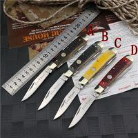 OEM 복 / boker 더블 개방 블레이드 접는 칼 9cr14mov 블레이드 EDC 사냥 자기 방어 전술 나이프 야외 도구