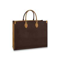 Bolsas bolsas bolsas bolsas bolsas bolsas mochilas mochilas mulheres totes bolsas bolsas marrons sacos de couro embreagem moda carteira sacos 44576 # 01 41cm