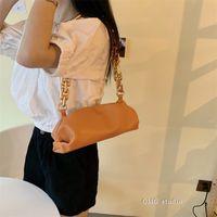 2021 NEW Bag For Women Cloud bag Soft Leather Hobos Bag Single Shoulder Purse Women Crossbody Luxury Handbag And Purse Day C