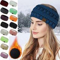 Wide Knitting Woolen Headband Winter Warm Ear Women Thicken Turban Hair Accessories Girl Hair Band Headwraps Ear Warmer