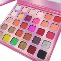 бренд дизайнер 30color тень для века розовой палитры Рождественского подарка знакомство макияжа тени для глаз высокого качества 12pcs DHL