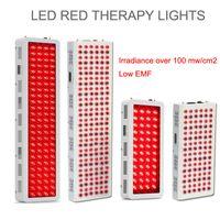 Commercio all'ingrosso RLT Pannello IFR Pannello rosso LED Light Terapy Dispositivo Full Body Skin Decedend Deep 660nm vicino a infrarossi 850nm 300W 500W 1000W con timer