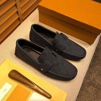 Designer uomo in pelle da uomo in pelle da uomo scarpe casual designer di lusso Designer Mocassin Dress Shoes Zapatos Hombre Driver Drivers Shoes Shoes 38-46