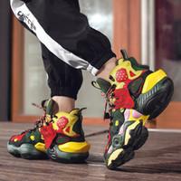 2021 SUPZ Marka Lüks Tasarımcı Casual Basketbol Sneakers, erkek Yüksek Üst Moda Hız Trainer Spor Çorap Ayakkabı Ucuz Yüksek Kalite Çizmeler