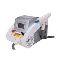 Portable q commuté ND YAG Laser Tatouage Machine Pigment à sourcils Retirez la beauté de la peau de carbone 1320nm / 532nm / 1064nm
