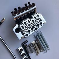 Ibanez 6 String Double Shake Pull String String Plate Plame Tremolo System Hardware Chrome per chitarra elettrica, spedizione gratuita