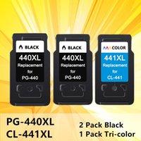 잉크 카트리지 440XL 441XL 잉크젯 카트리지 교체 PG440 PG 440 441 XL Canon Pixma MG2180 3180 4180 4280 MX438 518 378 프린터
