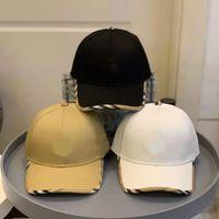 Мужчины Стильная Бейсболка Шапка Летняя Англия Мужской Белый Хлопок Регулируемый Повседневная Папа Путешествия Женщины Мода Шляпа