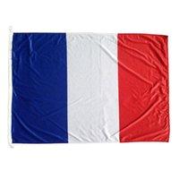 Франция Французский флаг высокого качества 3x5 FT 90x150cm Флаги Фестиваль партии подарков 100D Polyester Закрытый Открытый Печатные Флаги Баннеры