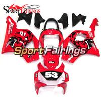 Complete Bodywork For 954 CBR900RR 2002 2003 CBR 900RR 02 03 Honda High Quality Sportbike Fairings Kit Gloss Red Black Decals