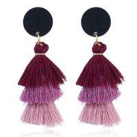 Kadınlar Moda Minik Damla Küpe Kadın Mücevher Hediyelik Bohemian Bildirimi Küpe için Püskül Küpe