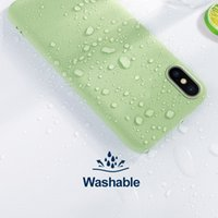 İPhone SE 2020 6/6 S 7 artı / 8plus X / XS XR XS Max Sıvı Silikon Darbeye Tampon Telefon Kılıfı Kabuk