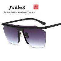 Gafas de sol sin montura Jubas 2020 Mujer / Hombre Lente integrada Gafas de sol Plano Top Gafas Coloridas Unisex Sport Sport Eyeglasses UV400 42