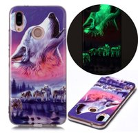 Mobile Phone Cases for Huawei P20-Lite Made of Soft TPU Fluorescence after Light Absorption (Suitable for Model:P20LITE)