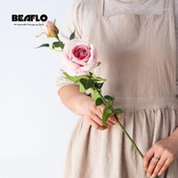 69см искусственные цветы шелк розовые цветы свадебный цветок поддельные договоренности для домашнего сада свадебное украшение 5 цветов1