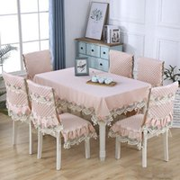 Tableau de table rectangle élégant restaurant banquet café nappe floral chaise florale couverture décoratif ser de mariage décor