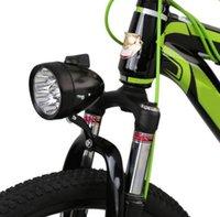 Retro Fahrradfahrrad 3 LED Frontlicht Scheinwerfer Vintage Lampe Fahrrad Sicherheit Scheinwerfer mit Halterung Fahrrad-Radausrüstung