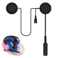 Anti-interfono del motociclo 2021 Anti-interferenza Bluetooth per casco da equitazione a mani libere Cuffie DFDF1