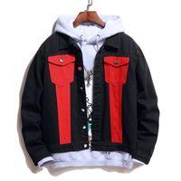 2021 Célèbre Hommes Denim Veste Hommes Haute Qualité Imprimé Casual Coats Mode Mens Styliste Outwear Jacket JK089