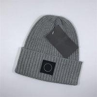 Neue Winter Frauen Gestrickte Hut Marke Männer Warme Baumwolle Beiläufige Hüte Designer Sport Outdoor Strickmützen
