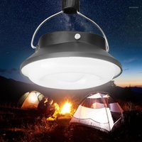 Lanternas portáteis 28 LED Solar Cabo de Camping Acampamento Luz Lâmpada Noturna Recarregável Lanterna Ultra Emergencial1