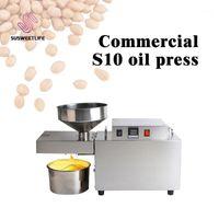 S10 AUTOMATICA AUTOMATICA A MACCHINA PREMIA PESANTE Intelligente Olio Commerciale Pressatore di Sunflower Seeds Estrattore di arachidi 1500W (max) 1
