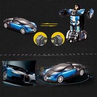 RC CAR Преобразование роботов Новый ультрачувствительный жест преобразование пульта дистанционного управления автомобиль модель детские игрушки рождественские подарки для мальчиков 201203