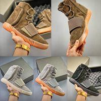 2021 استحى الصحراء الفأرة 500 سوبر مون أصفر عملي سنيكرز سوداء رمادي صمغ أحذية رجالية أحذية رياضية رمادية بني أسود 750 الرياضة