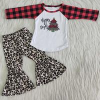 Sıcak Satış Çocuklar Tasarımcı Giyim Kız Toptan Çocuk Giyim Butik Toddler Bebek Kız Giysileri Çan Alt Kıyafetler Noel Giyim Yeni